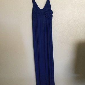 Design History Maxi Dress XL Sapphire Blue